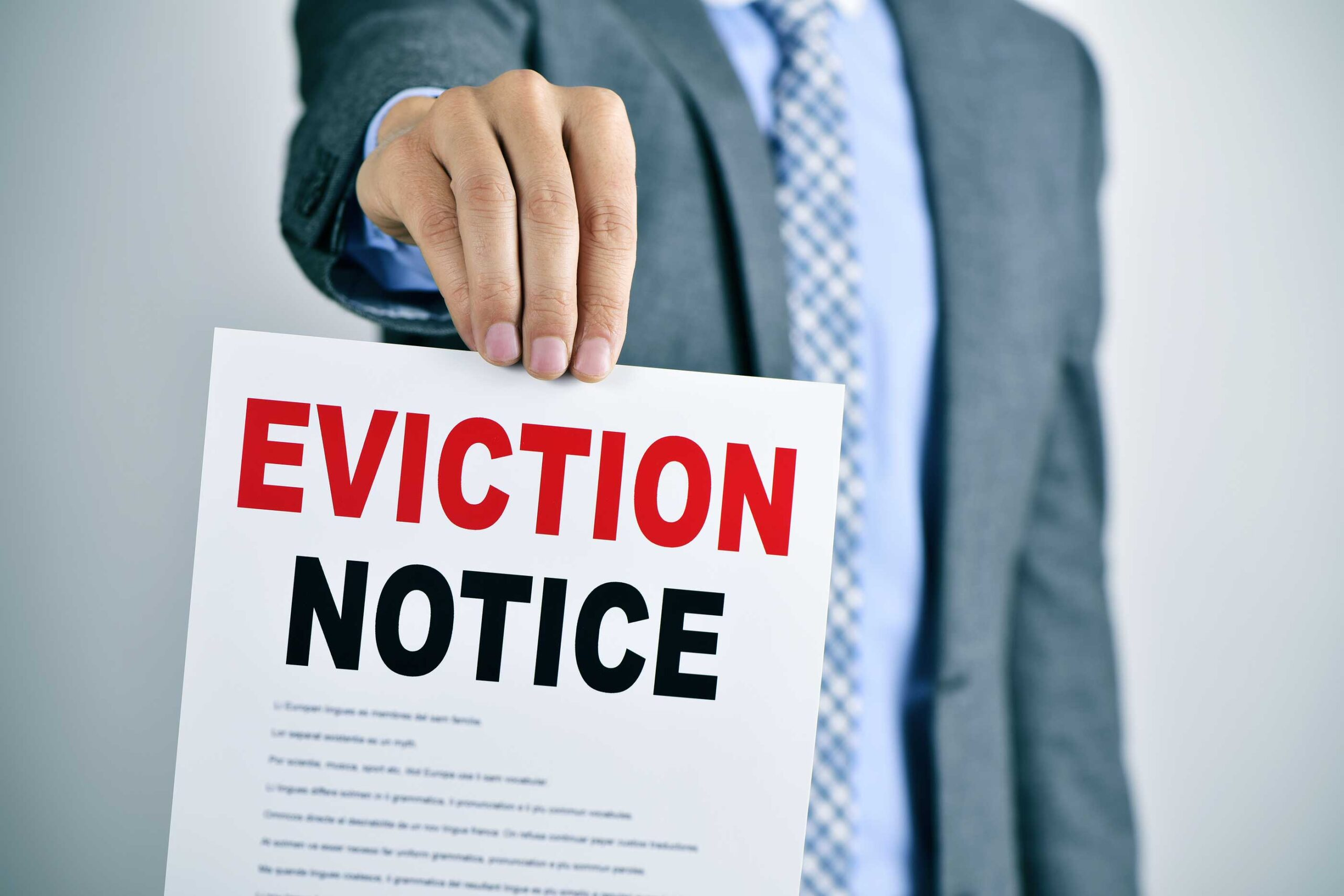 EVICTION MORATORIUM: YOU MAY SOON BE EVICTED